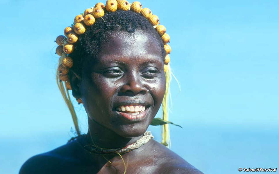 The President warned that 'so-called development' must not be allowed to destroy the Jarawa tribe