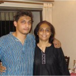 Rahul and his mother